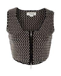 Temperley London | Black Blazonry Waistcoat | Lyst