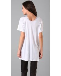 Tom Binns | Multi Colored White Tshirt | Lyst