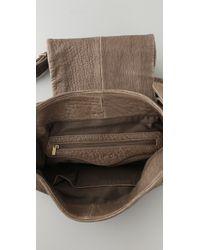 IRO - Gray Abbey Messenger Bag - Lyst