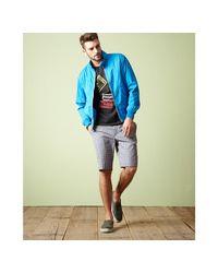 Marc By Marc Jacobs - Spring Sky Blue Cotton Harrington Zip-up Jacket for Men - Lyst