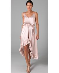 Thayer | Pink Wild One Maxi Dress | Lyst