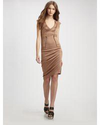 VPL   Natural Drop Curvate Dress   Lyst