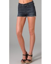 Citizens of Humanity - Blue Boogie High Rise Short - Lyst