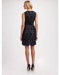MILLY | Blue Carolina Dress | Lyst
