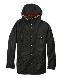 Barbour - Green Six Pocket Coat for Men - Lyst