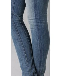Rezin - Blue Lariat Super Skinny Jeans - Lyst