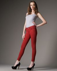Citizens of Humanity | Metallic Thompson Picante Skinny Jeans | Lyst