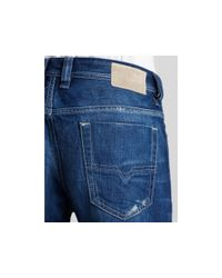 DIESEL - Blue Viker 8mz Straight Leg Jean for Men - Lyst