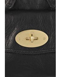 Mulberry | Black Postmans Lock Leather Shoulder Bag | Lyst