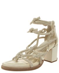 Alexander Wang | Yellow Tilda Knotted Low-heel Sandal | Lyst