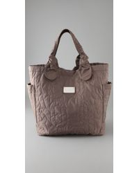 Marc By Marc Jacobs - Gray Tate Quilted Tote - Lyst