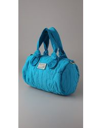 Marc By Marc Jacobs - Blue Pretty Nylon Max Duffel Bag - Lyst