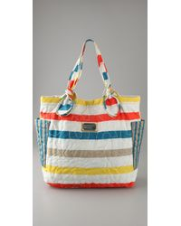 Marc By Marc Jacobs - White Pretty Nylon Medium Tate Tote - Lyst