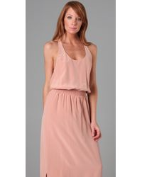 Rory Beca   Pink Dazzle Keyhole Back Gown   Lyst