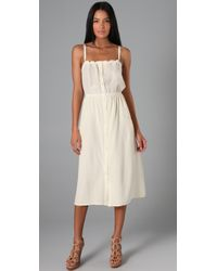 Sunner - White Oak Long Dress - Lyst