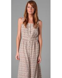 Sunner | Pink Printed Oak Long Dress | Lyst