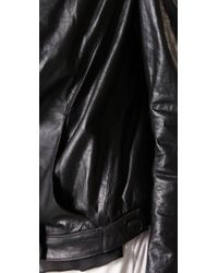 Theyskens' Theory - Black Juno Jacket - Lyst