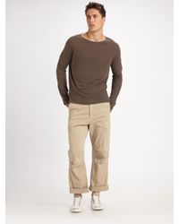 Hudson Jeans | Natural Cargo Pants for Men | Lyst