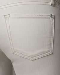 Vince - Skinny Ankle Jean - Refurbished White - Lyst