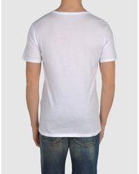 DIESEL - White Short Sleeve T-shirt for Men - Lyst