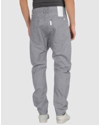 Humor - Gray Chino Trousers for Men - Lyst