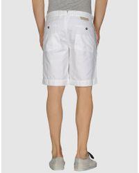 Incotex Red | Natural Bermuda Short for Men | Lyst