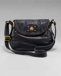 Marc By Marc Jacobs | Black Totally Turnlock Natasha Saddle Bag | Lyst
