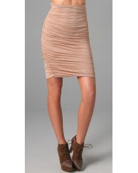 A.L.C. | Pink Twisty Skirt | Lyst