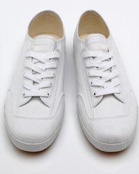 Feiyue | Fe Lo Plain,white Canvas for Men | Lyst