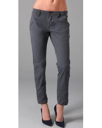 J Brand - Blue Inez Slim Fit Chino - Lyst