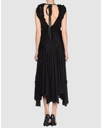 Marc Jacobs - Black Long Dress - Lyst