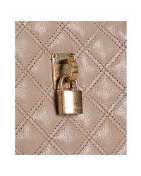 Marc Jacobs - Petal Pink Quilted Leather Karlie Satchel - Lyst