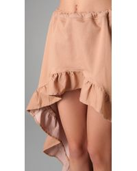 Pray For Mother Nature | Pink Encinitas Ruffled Skirt | Lyst