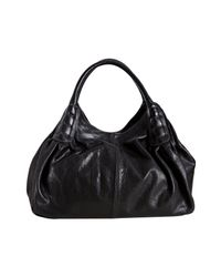 Tod's - Black Leather Ivy Sacca Media Shoulder Bag - Lyst