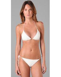Cali Dreaming - White The String Bikini - Lyst