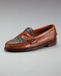 Ralph Lauren | Brown Elmsworth Penny Loafer | Lyst