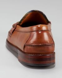 Ralph Lauren - Brown Elmsworth Penny Loafer - Lyst