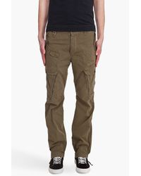 DIESEL | Green Sislargo Pants for Men | Lyst