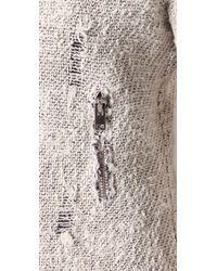 IRO - Natural Agnette Distressed Bouclé Jacket - Lyst