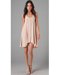 Oscar The Third | Natural Trapeze Dress | Lyst