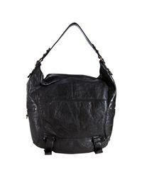 Rebecca Minkoff - Black Glazed Leather Swoon Hobo - Lyst