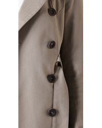 Smythe - Natural Clean Trench Coat - Lyst