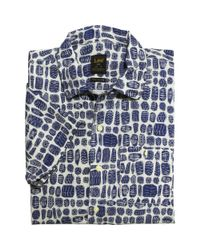 Lee Jeans | 101 Leesure Bowling Shirt - Atomic Blue for Men | Lyst
