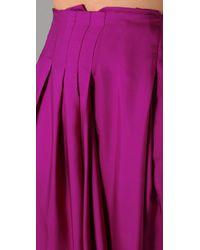 Rachel Roy - Purple Swing Skirt - Lyst