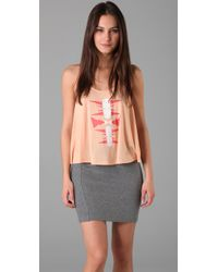 Torn By Ronny Kobo | Pink Tracy Aztec Tank | Lyst