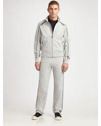 Zegna Sport | Gray Track Pants for Men | Lyst