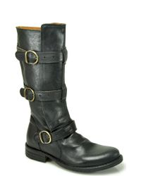 Fiorentini + Baker | Eternity - Black Mid Shaft Buckle Boot | Lyst