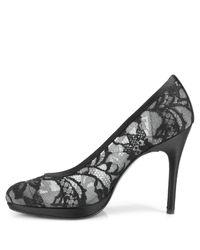 Stuart Weitzman - Lace Swoon - Black Lace Pump - Lyst