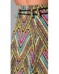 Mara Hoffman | Yellow Tea Length Skirt | Lyst
