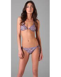 Naelie - Blue Dalia Liberty Floral Bikini - Lyst